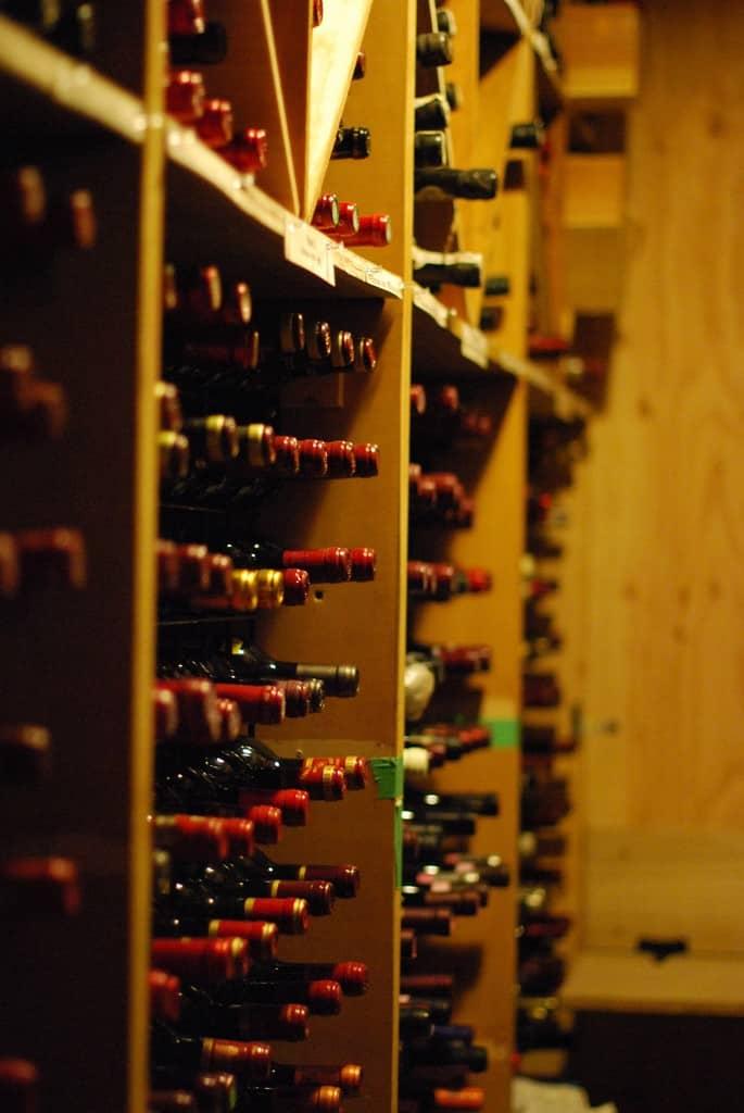 full service wine storage