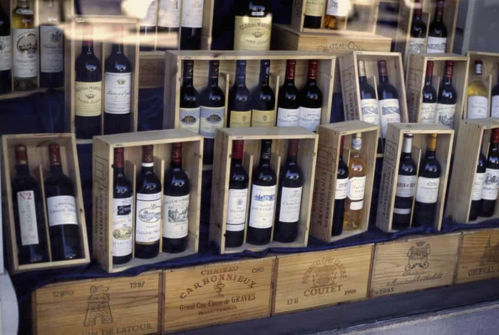 Bordeaux pre-arrivals and futures often take more than a year to ship to buyers due to complex shipment laws and prolonged bottle aging. Photo Credit: Wikimedia CC user Berndt Fernow