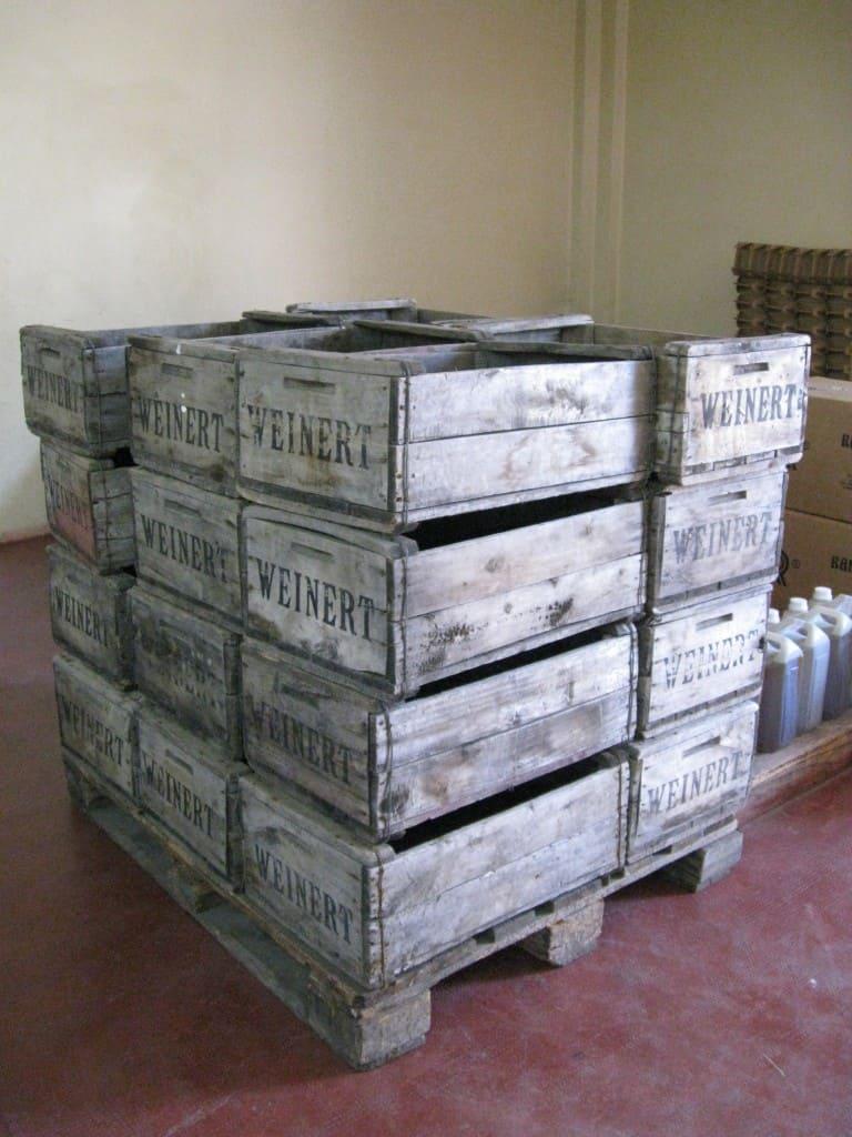 repurpose wine crates