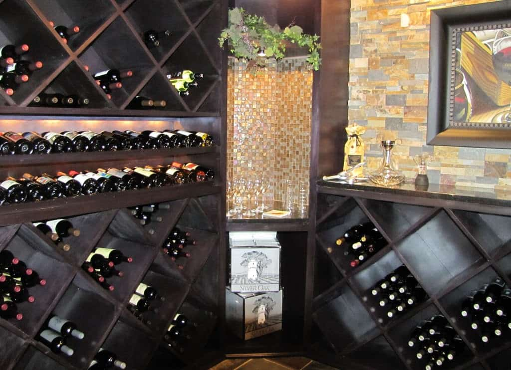 how big does a wine cellar need to be