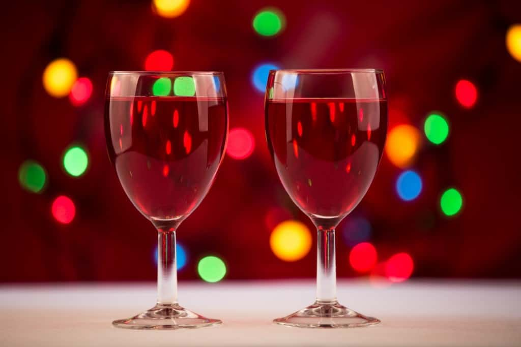 drinking wine over the holidays