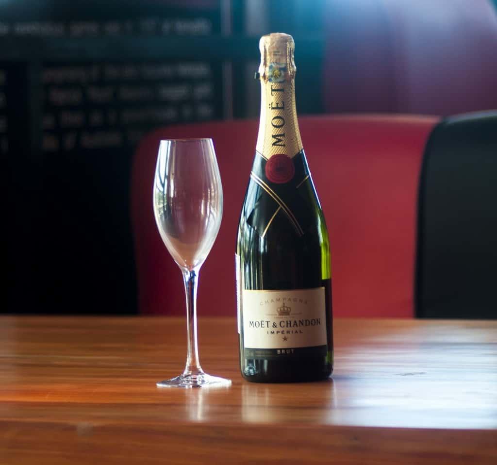 cellaring champagne