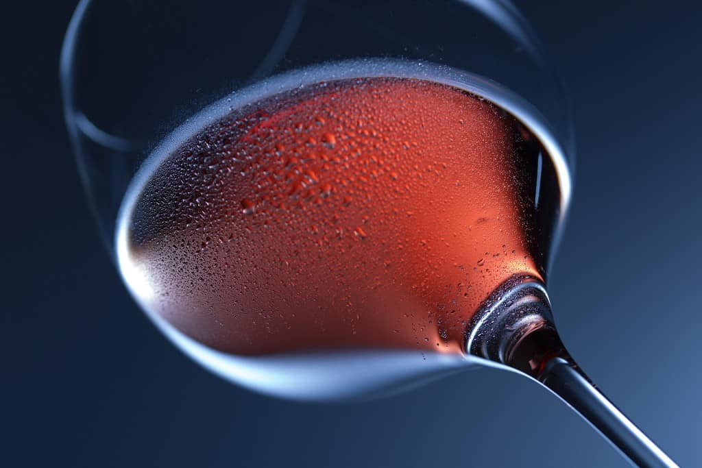 what temperature should red wine be served at