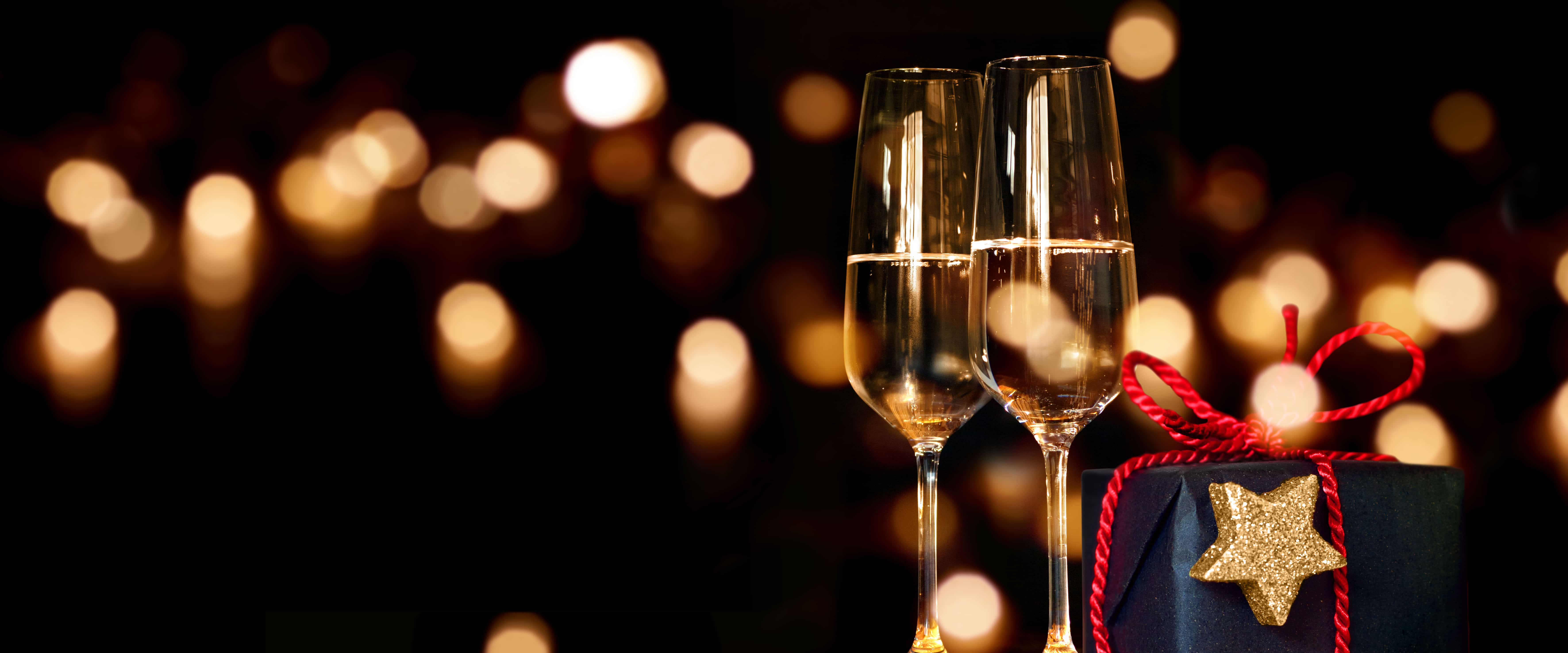 Champagne Holiday Gifts are a great festive choice
