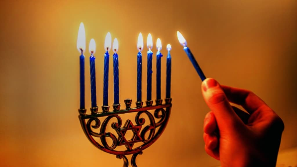 Giving Wine for Hanukkah