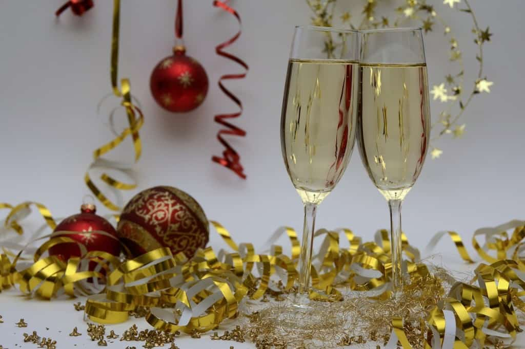 For the best champagne for new year's eve, try a mature vintage champagne.