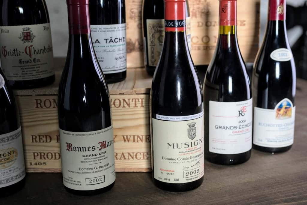 Red Burgundy Wine Prices