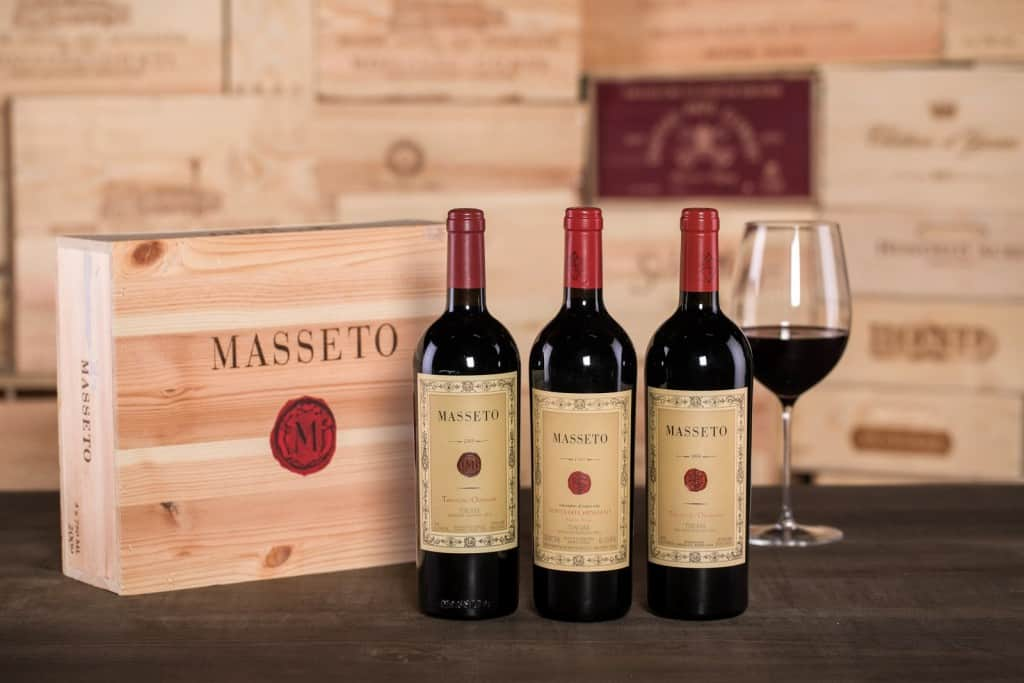 Ornellaia Masseto wine is gaining in value.