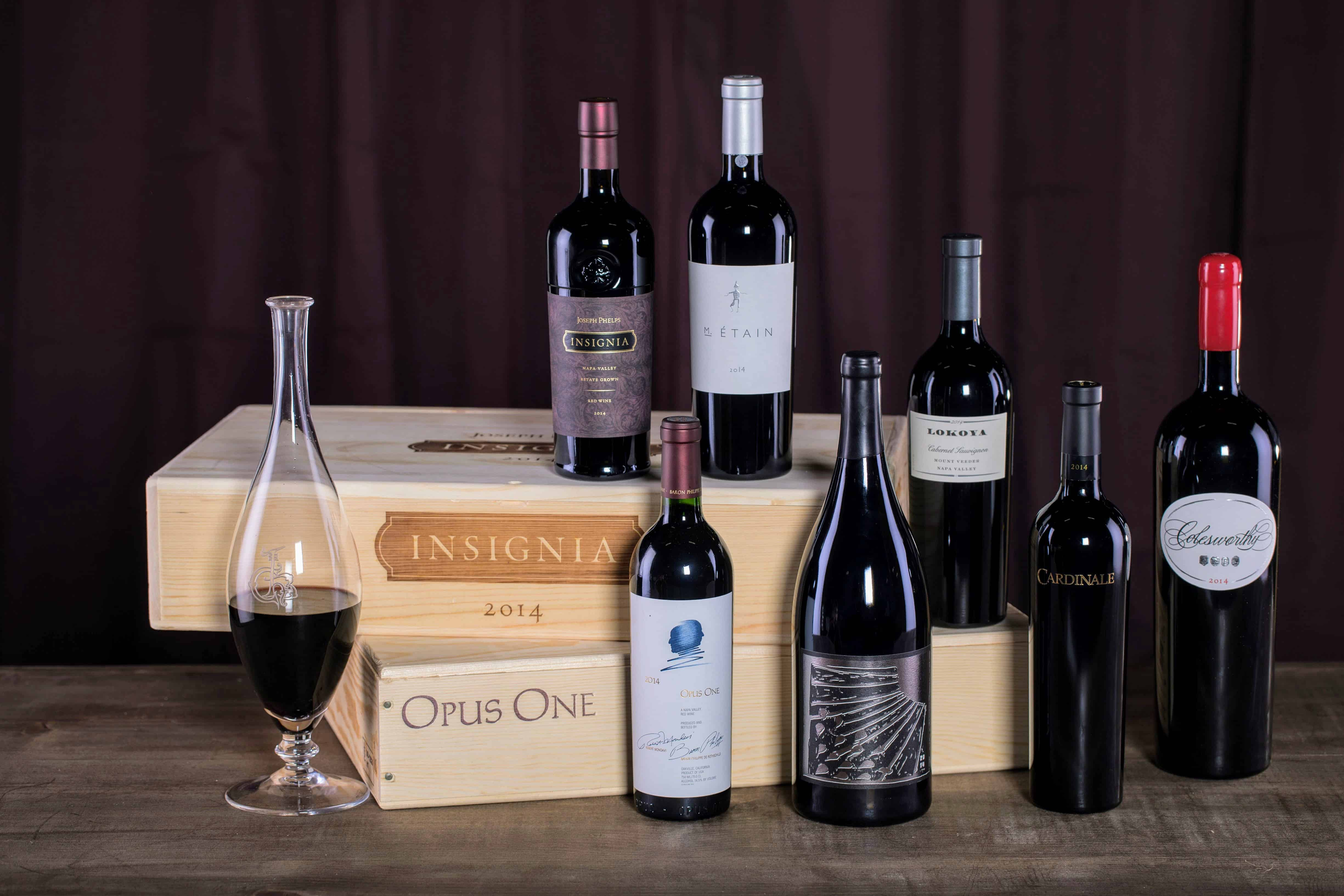 Wines from the best California wine regions