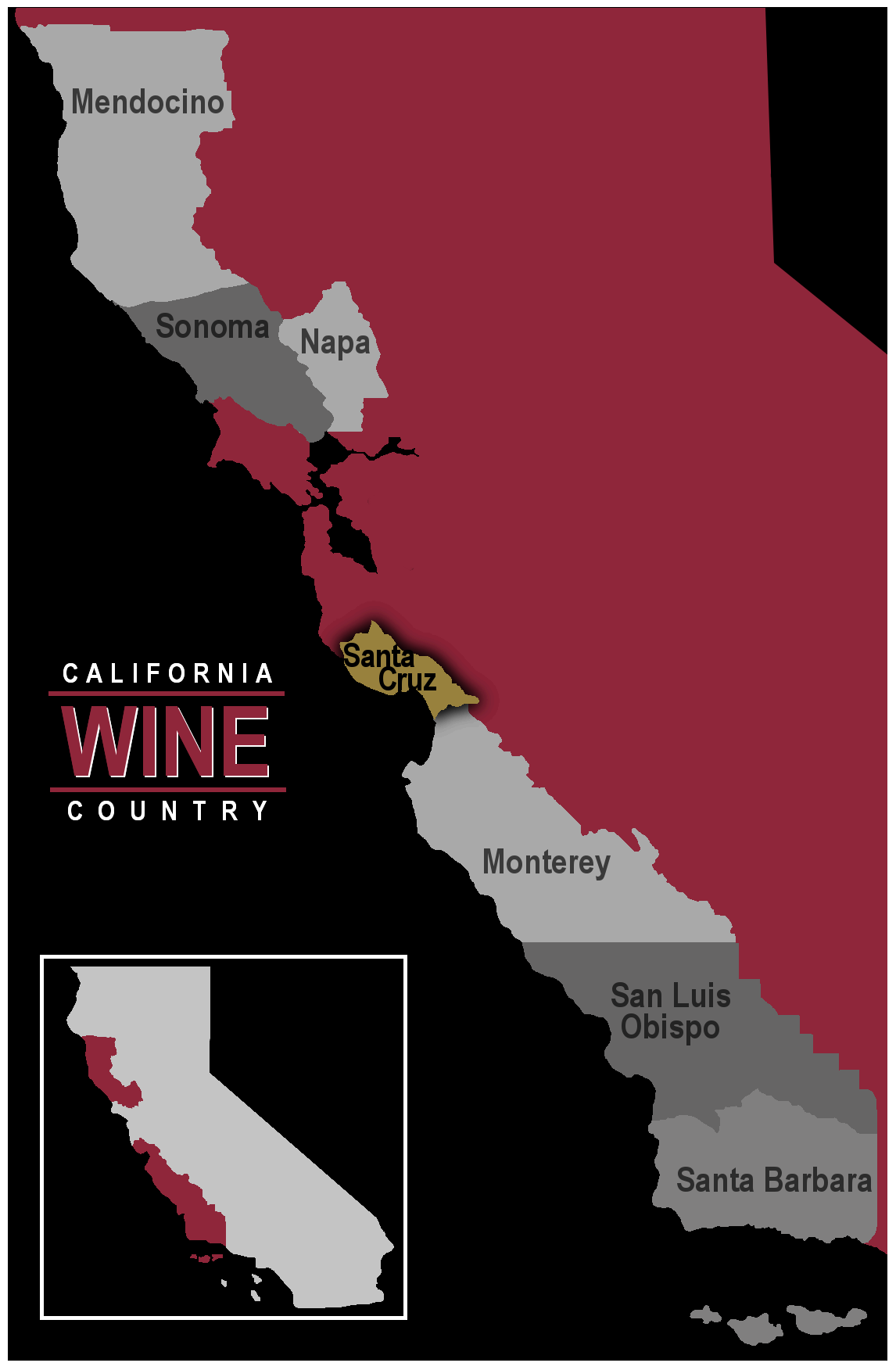 California wine region Santa Cruz