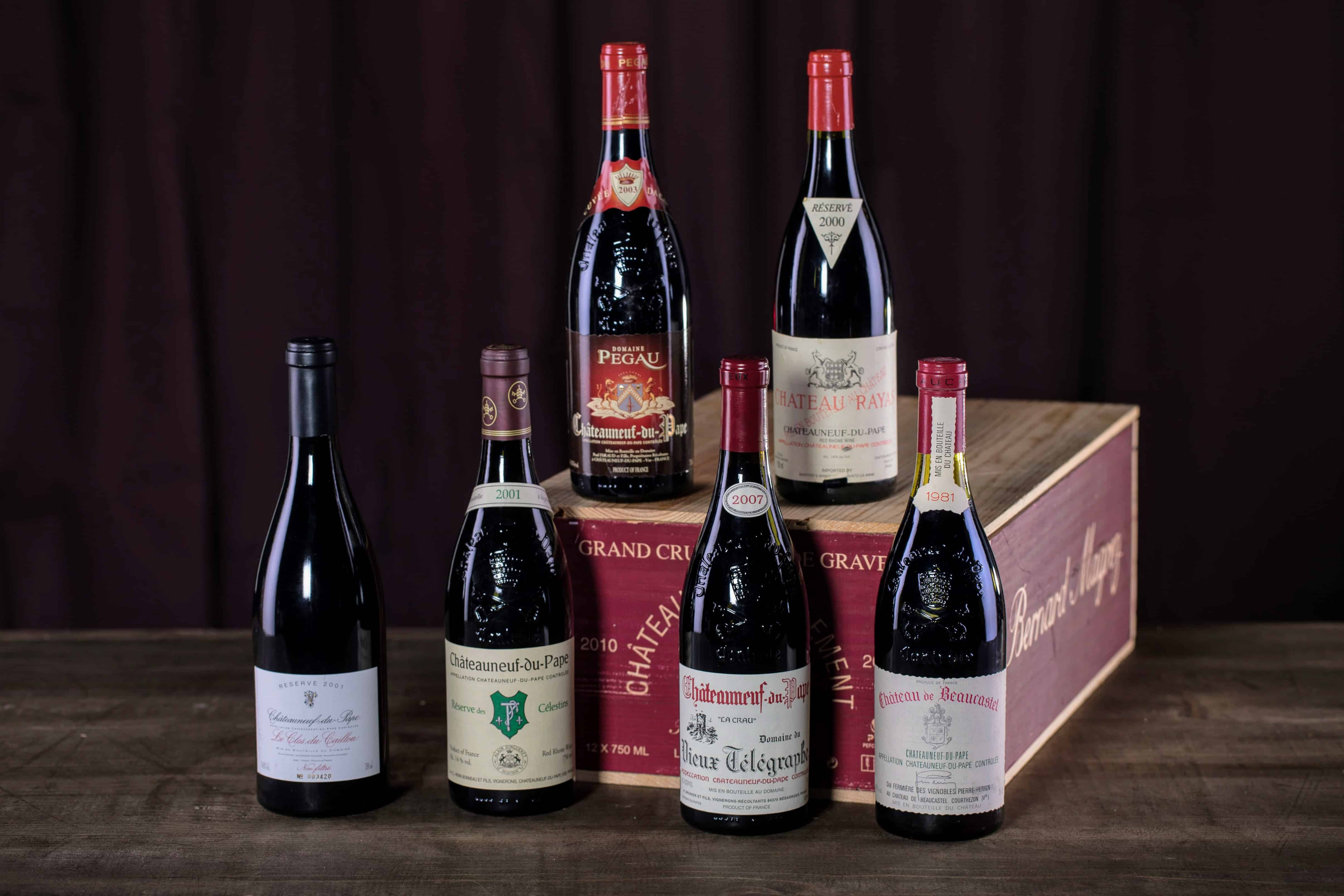 Some of the best Southern Rhone producers are Rayas, Pegau, and Beaucastel.