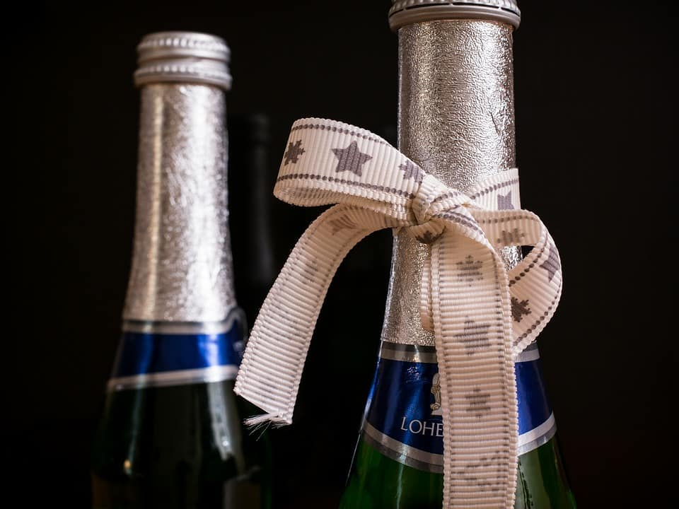Champagne can make one of the best wine retirement gifts.