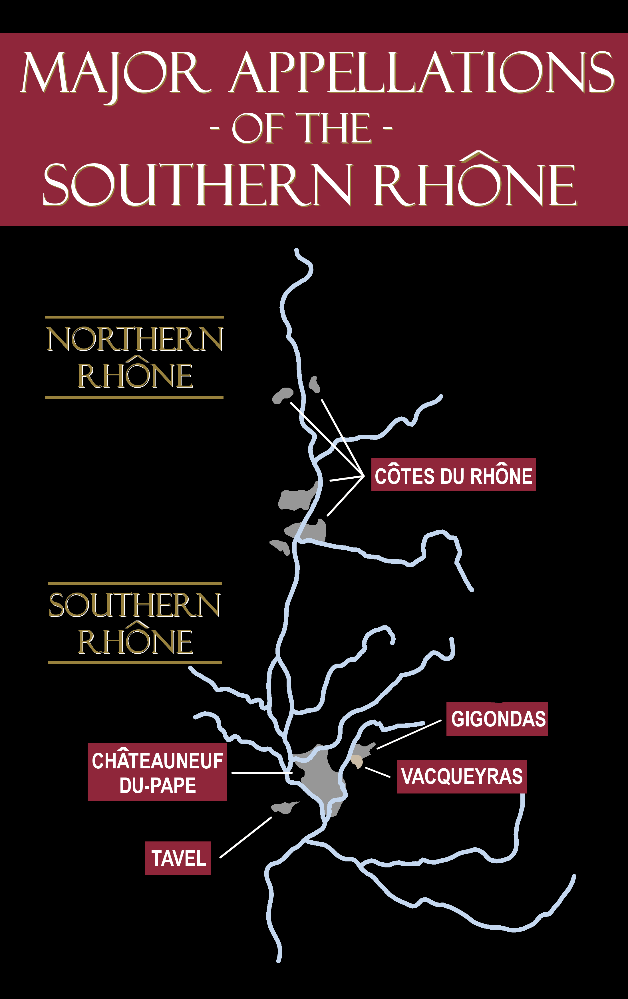 The major appellations of the Southern Rhone have many of the best producers.