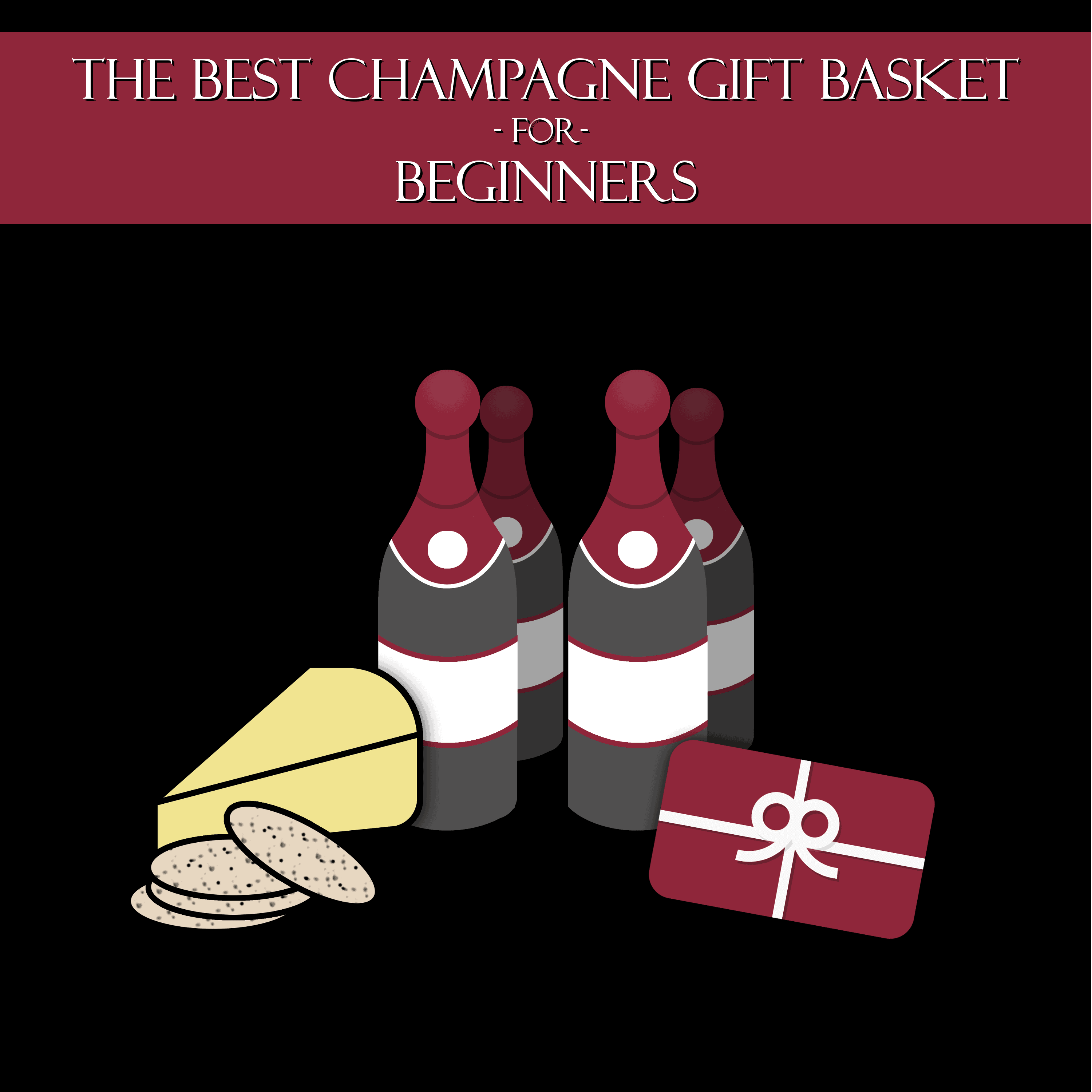 Ideas for a beginner's Champagne gift basket