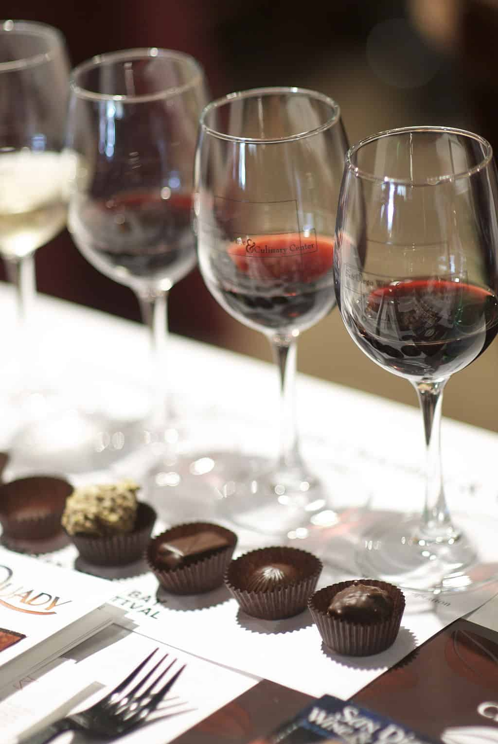 A port and chocolate pairing brings out the best in each.