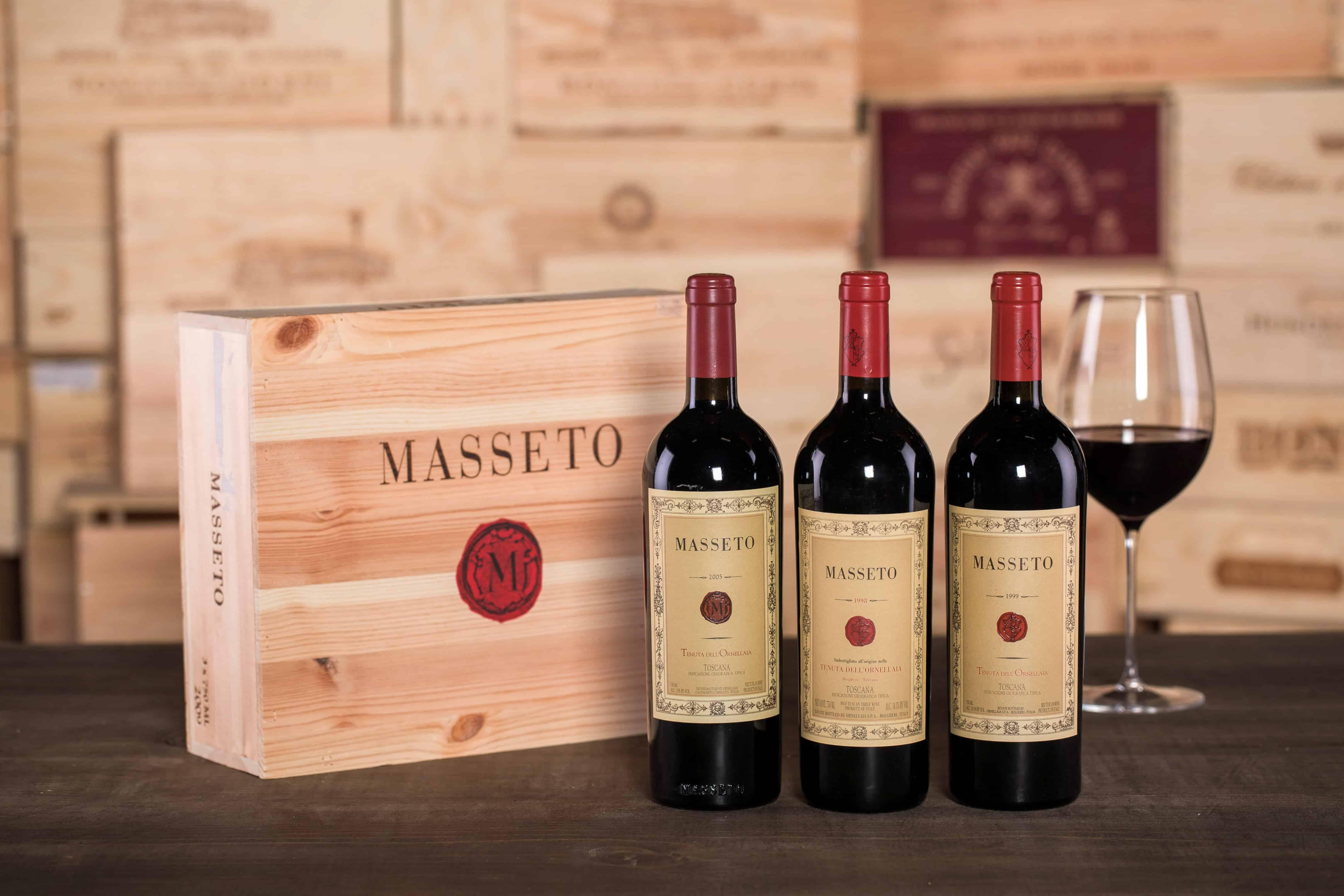 Masseto makes some of the Super Tuscan best vintages