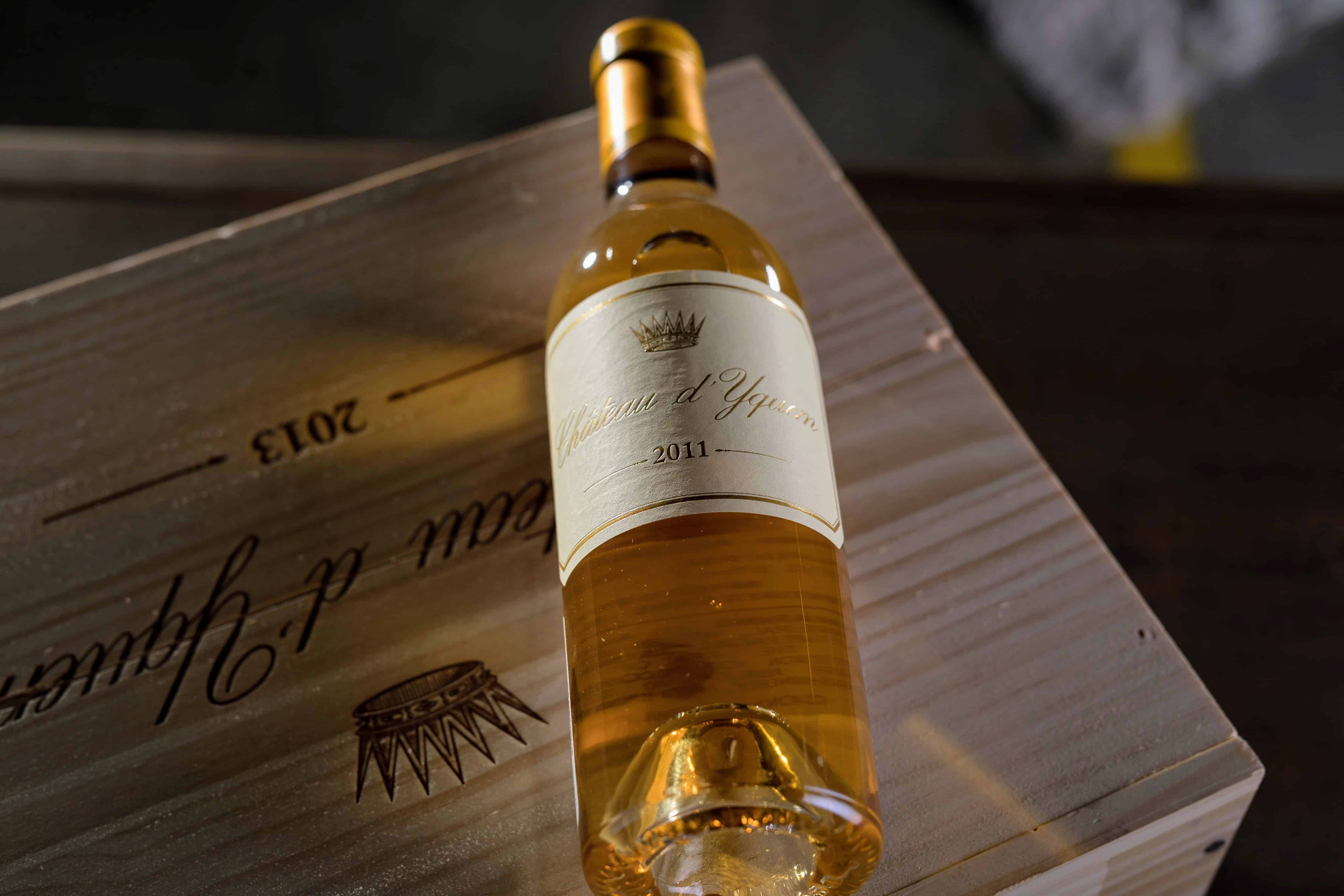 Decanting Château d'Yquem isn't common but it can be beneficial.