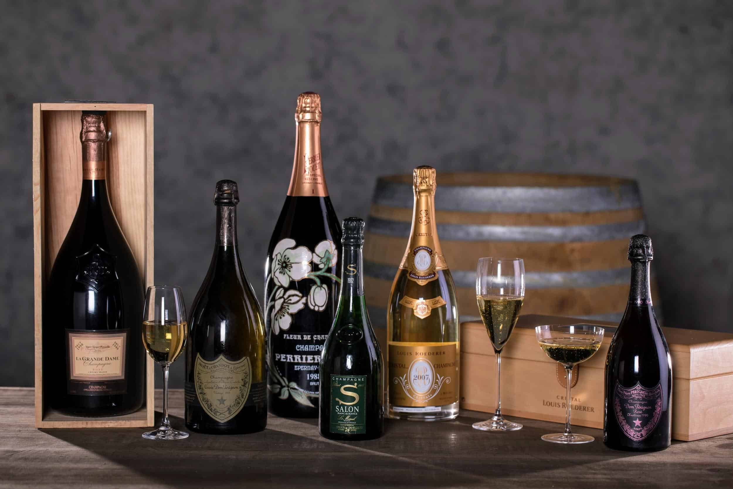 Sell Champagne online to easily make a profit on your investment