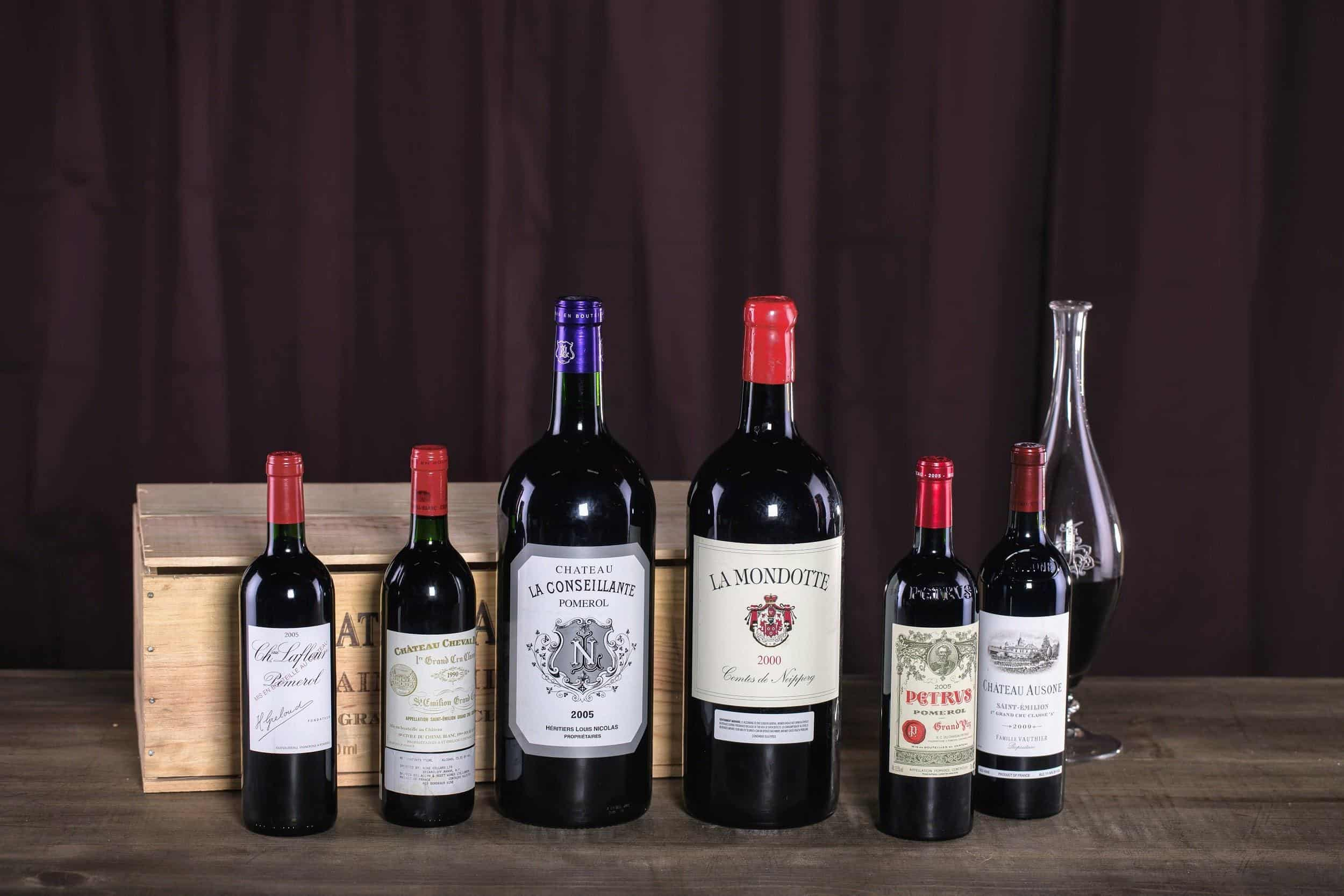Pomerol vs. Saint-Emilion wines side-by-side