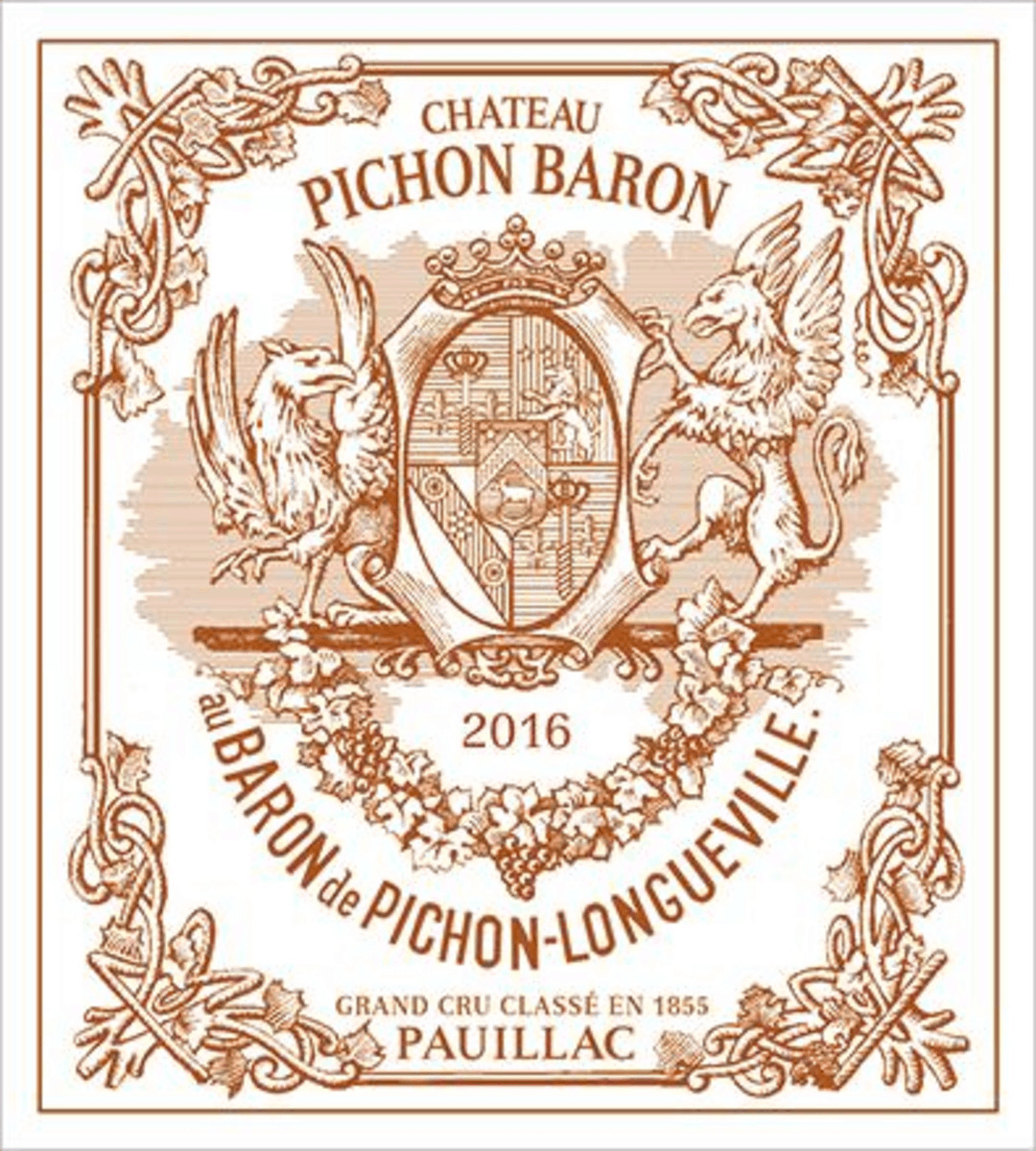 2016 Pichon Baron is one of the best Bordeaux under $200.