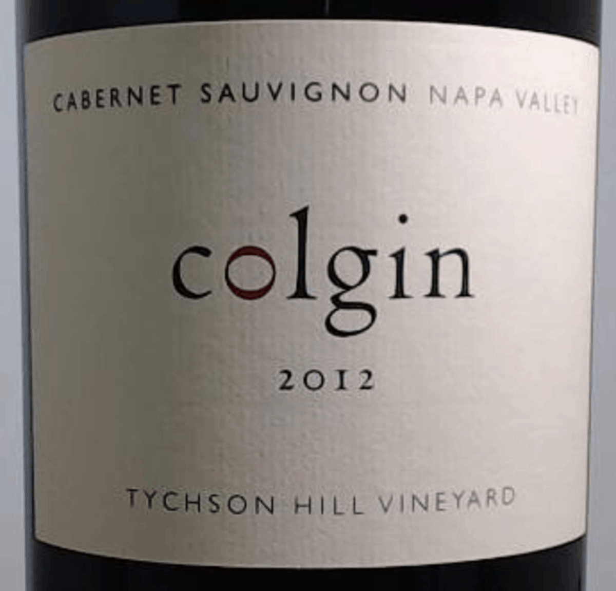 2012 Colgin Tychson Hill Vineyard one of Colgin's 100-point wines.