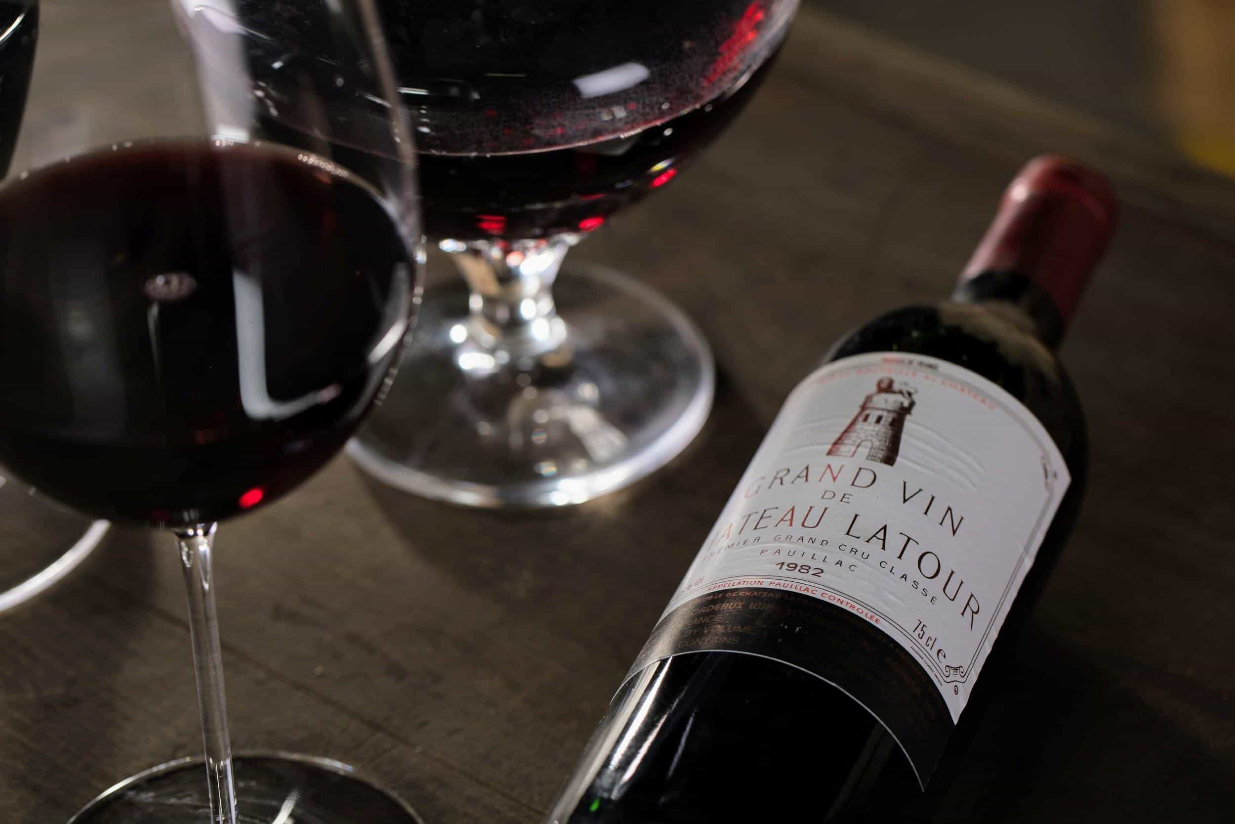 One of the best vintages of Château Latour is the 1982