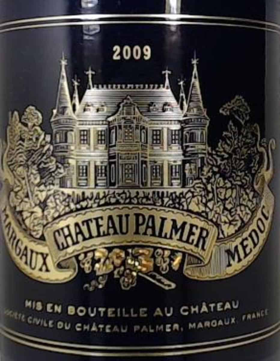 One of the best vintages of Château Palmer was the 2009.