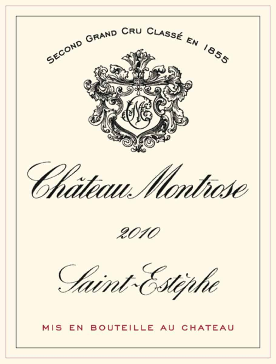 2010 is one of Château Montrose's best vintages in history.