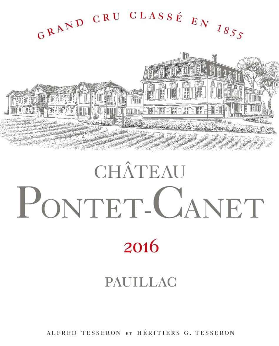 chateau pontet-canet label